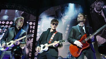Le groupe A-Ha en concert en 2010