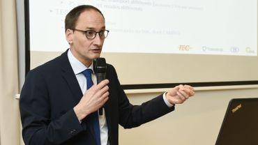 Vincent Peremans, administrateur général de la Société Régionale Wallonne du Transport.