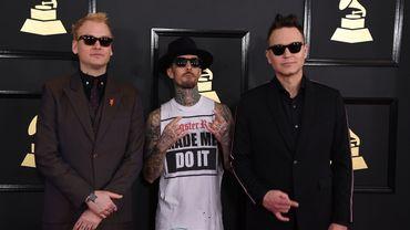 Blink 182 avant la retransmission des Grammy Awards 2017