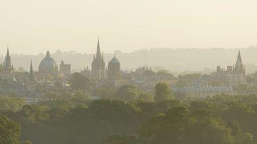 Une vue de la ville d'Oxford.