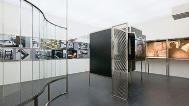 """László Moholy-Nagy, la """"Chambre du Présent"""" (""""Raum der Gegenwart""""), construite en 2009 à partir de documents datant de 1930"""