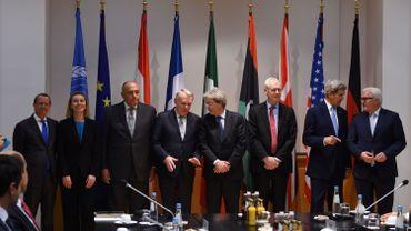 Les chefs de la diplomatie américaine, française, allemande, italienne, égyptienne, de l'UE et l'émissaire de l'ONU pour la Libye, Martin Kobler, se sont entretenus de l'avenir de la Syrie ce samedi à Munich.
