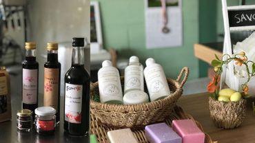 Produits à base d'hibiscus et de lait de jument