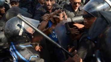 Gaz lacrymogènes contre des manifestants islamistes au Caire