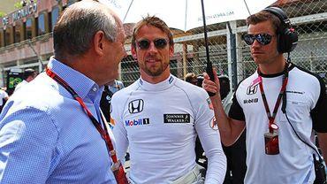 "Dennis : ""Button sera chez McLaren en 2016"""