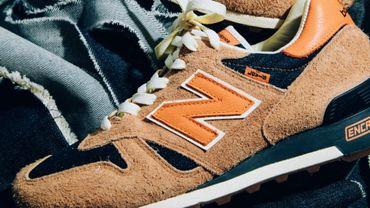 Levi's et New Balance s'associent pour la conception d'une paire de sneakers en édition limitée pour le printemps.