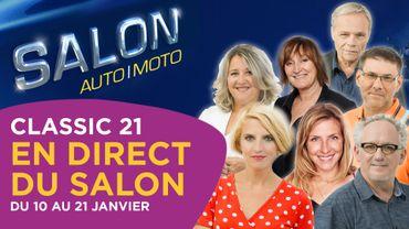 Classic 21 en direct du Salon de l'Auto 2018