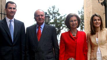 Felipe et Letizia, les nouveaux jeunes souverains d'Espagne
