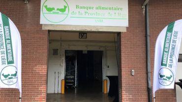 Les banques alimentaires doivent aider de plus en plus de monde, notamment en province de Liège