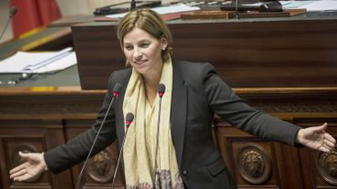 La députée Nele Lijnen