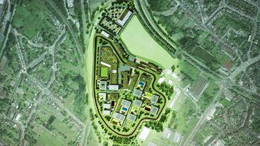 Si la Ville ne délivre pas le permis pour dévier le Kelbeek, le projet de prison devra être adapté.