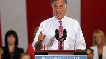 Le républicain Mitt Romney