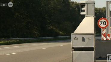 Charleroi-Namur: un radar blindé a été installé sur le chantier de l'E42