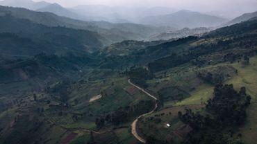 La province du Nord-Kivu est située à l'est de la République démocratique du Congo.