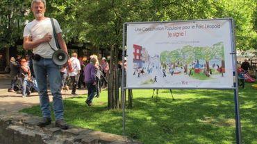L'avenir du parc Léopold fera l'objet d'une consultation populaire le 8 février prochain.