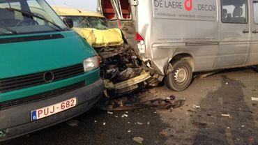138 véhicules ont été impliqués dans ces collisions en série