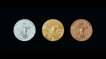 Les médailles des JO de Tokyo 2020