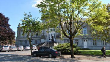 Le palais de justice de Tournai.