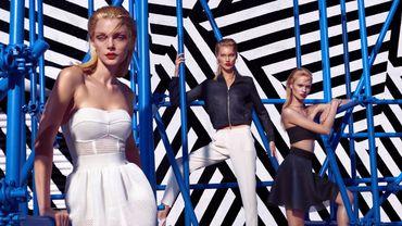 Jessica Stam pose pour la nouvelle collection de Kocca.