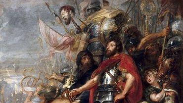 """""""Le Triomphe de Judas Macchabée"""", par Rubens (1635)"""