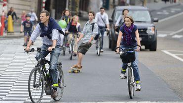 Ce dimanche à Bruxelles  15 ème éditon de la journée sans voiture