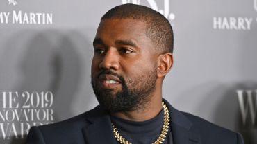 Le rappeur Kanye West à la soirée Innovator Awards 2019 organisée par la magazine WSJ au MOMA, le 6 novembre 2019 à New York.