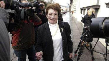 Marie-Anne Belfroid-Ronvaux, la présidente sortante de l'UCM