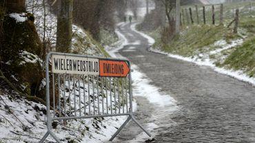 Kuurne-Bruxelle-Kuurne avait aussi été annulé à cause de la neige
