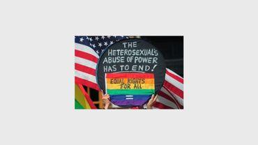 Manifestation pour le mariage gay à New York le 24 mars 2013