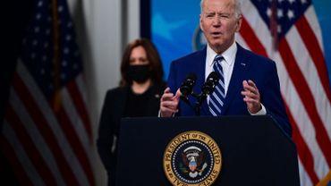 """Coronavirus aux USA : """"la guerre contre le Covid-19 est loin d'être gagnée"""" selon Joe Biden"""