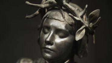 Statue représentant Jeanne d'Arc, Tour Jeanne d'Arc