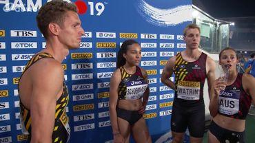 Vainqueur, disqualifié puis repêché, le relais mixte belge disputera bien la finale
