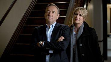 """Kevin Spacey et Robin Wright sont nommés pour la 4e année consécutive aux Emmy Awards avec """"House of Cards"""""""