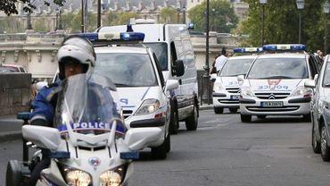 Abdelkader Merah arrive au tribunal à Paris sous forte escorte