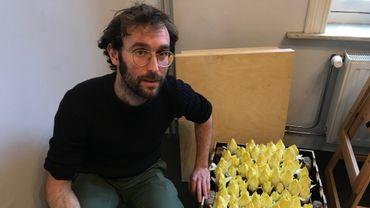 Arnout Vandamme a lancé son projet Chicon en ville il y a deux ans.