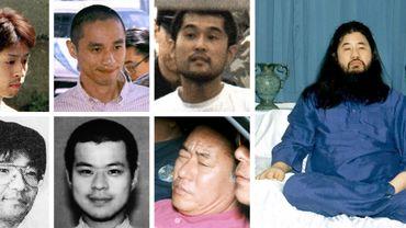 Les membres de la secte Aum exécutés au Japon.