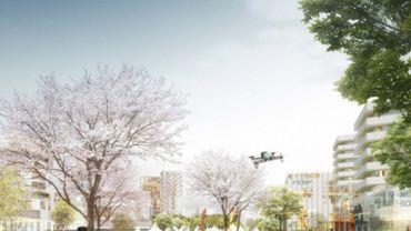 """Le """"Mediapark"""" situé boulevard Reyers à Schaerbeek totalement finalisé en 2030"""
