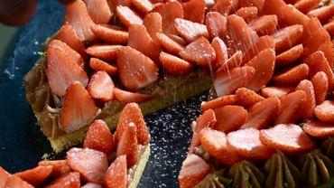 La tarte aux fraises gariguettes
