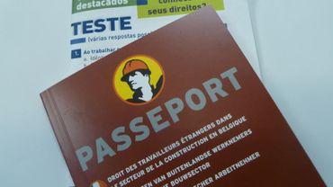 Les brochures fournies aux travailleurs étrangers par les syndicats