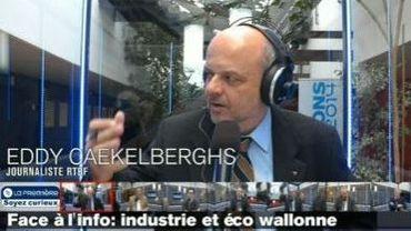 Face à l'info, enjeux régionaux: quelles politiques économique et industrielle pour la Wallonie ?