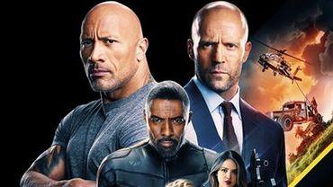 """""""Hobbs & Shaw"""" de David Leitch, avec Dwayne Johnson, Jason Statham et Idris Elba, devient le premier film de l'année à rester au top du classement pendant quatre week-ends."""