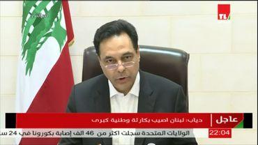 Hassane Diab, le Premier ministre libanais, responsable également du drame selon Jihane Sfeir.