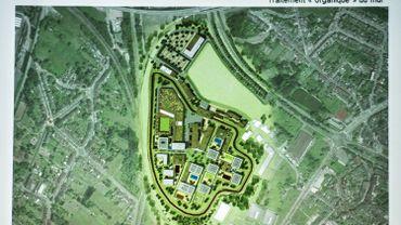 Le plan de la prison de Haren à Bruxelles