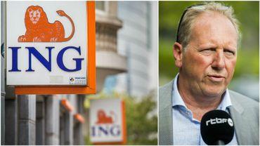 Le secrétaire général du SETca Jean-Michel Cappoen confirme les inquiétudes des salariés d'ING.