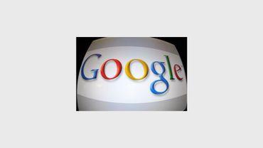 Le logo de Google sur un écran d'ordinateur