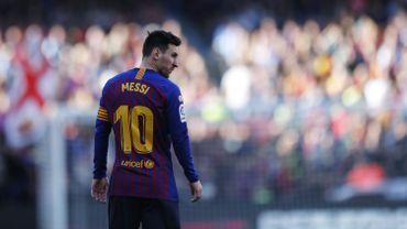 Football/Soccer: Liga Santander - FC Barcelona 2-0 RCD Espanyol
