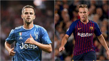L'échange entre le Barça et la Juventus impliquerait deux joueurs : Pjanic et Arthur.