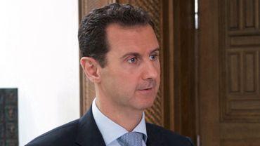 Bachar el-Assad sur une photo publiée le 3 novembre 2016 par l'Agence de presse syrienne arabe (SANA).