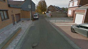 La rue dans laquelle les faits s'étaient produits en mars dernier