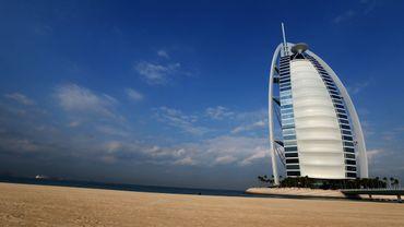 L'hôtel Burj al-Arab, à Dubaï
